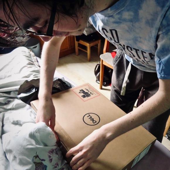 Joe new laptop, 9/4/20