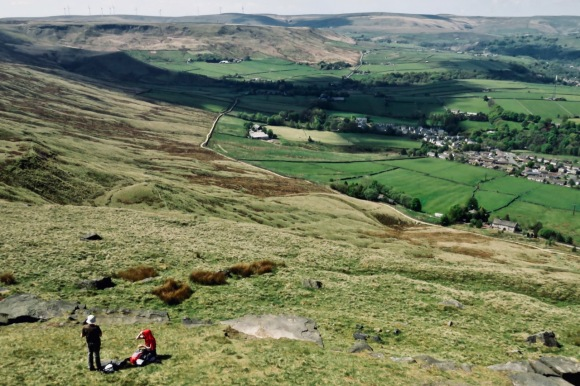 View from Stoodley Pike, 9/5/20
