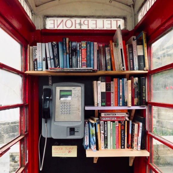 Phone box book swap, 17/6/20
