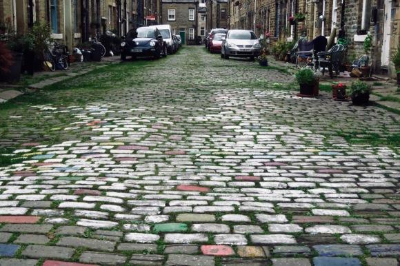 Sackville Street cobbles, 10/6/20