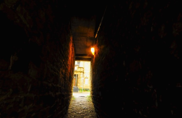 The ginnel, 9/7/20