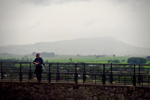 Clare, Clitheroe castle, 17/8/20