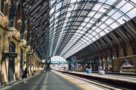 King's Cross, empty, 1/8/20