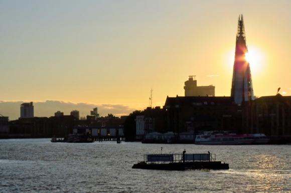 Thames sunset, 8/9/20