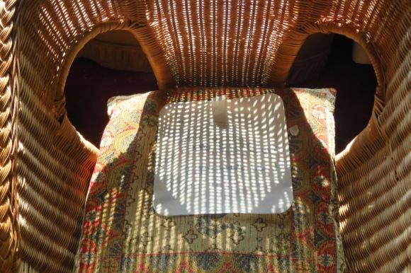 Wicker chair, 17/9/20