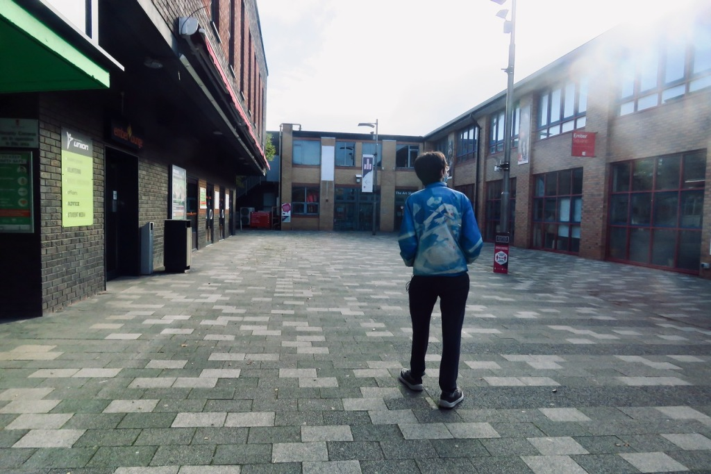 Joe inspects Staffs Uni, 17/10/20