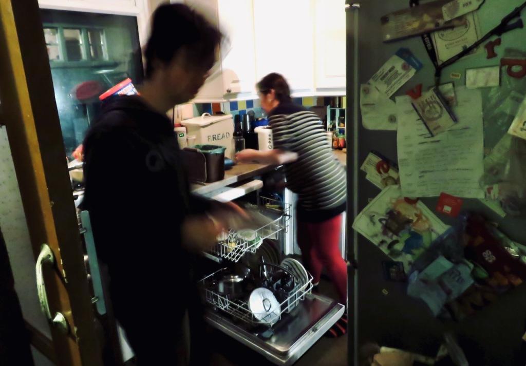 Clare, Joe, kitchen, 16/11/20
