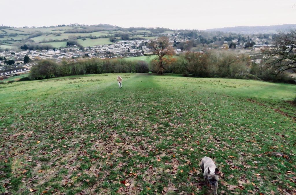 Climbing Penn Hill, 9/12/20
