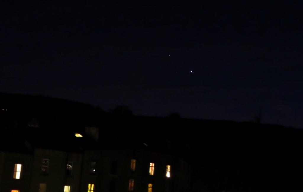 Jupiter and Saturn, 30/11/20