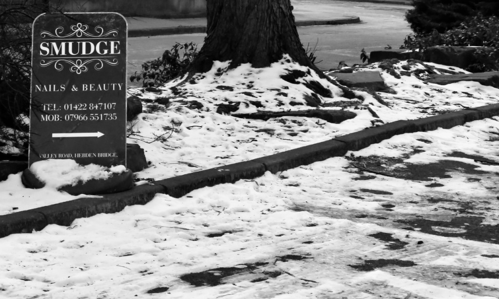 Snowy car park, 13/2/21
