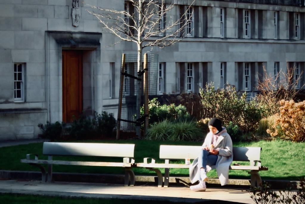 Sun on campus, 2/3/21