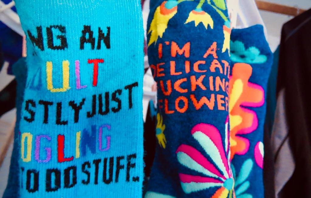 Clare's socks, 15/4/21