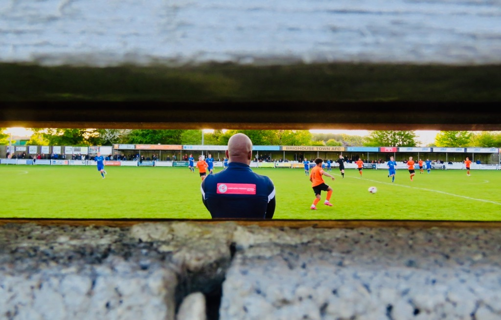 Brighouse dugout, 17/5/21