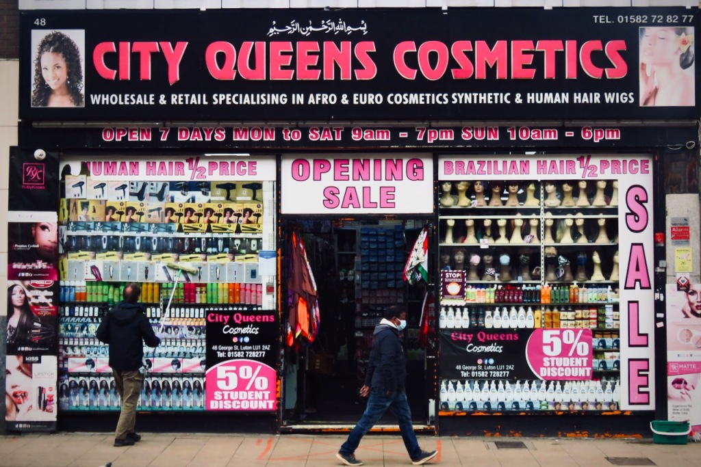 City Queens Cosmetics, Luton, 6/5/21