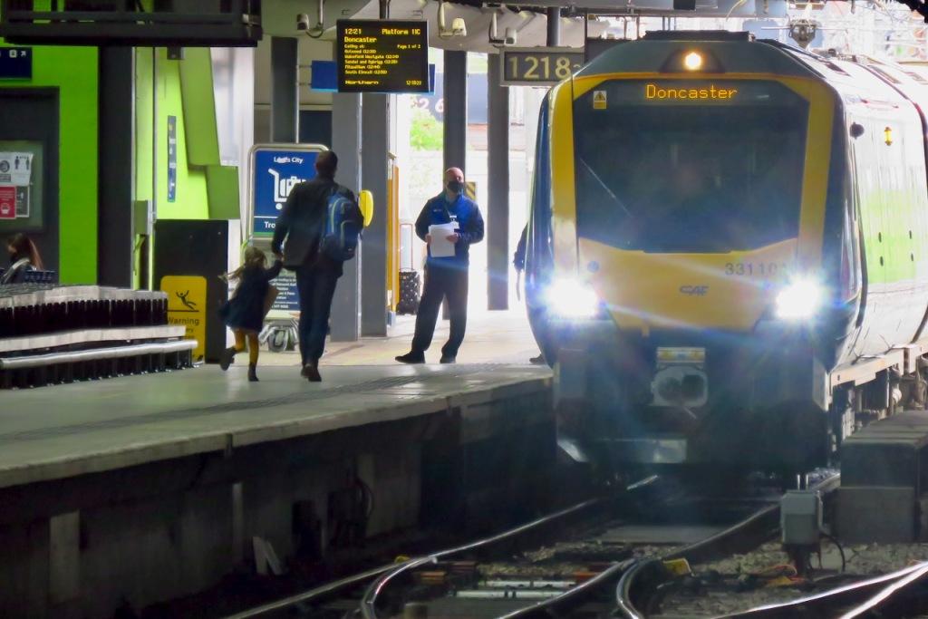Doncaster train, 22/5/21