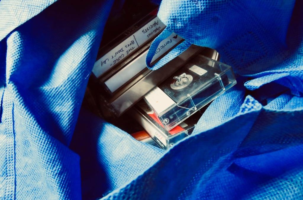 Cassette bag, 8/6/21