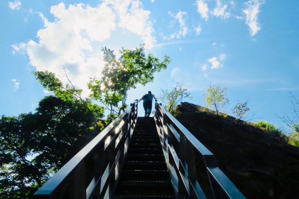 Bowder Stone steps, 23/7/21