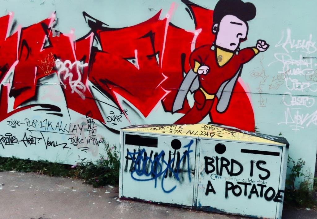 Bird is a potatoe, 2/9/21