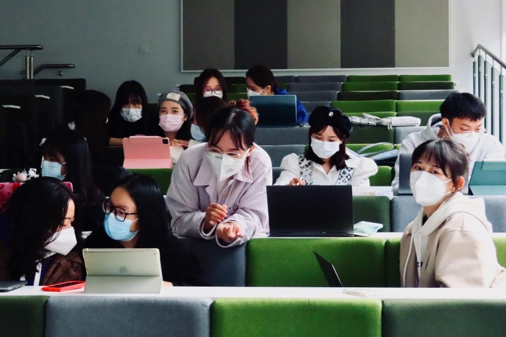 Masked students, 1/10/21