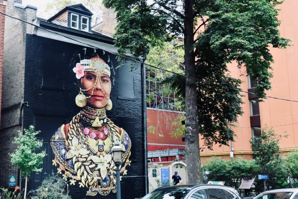 Toronto mural, 13/10/21